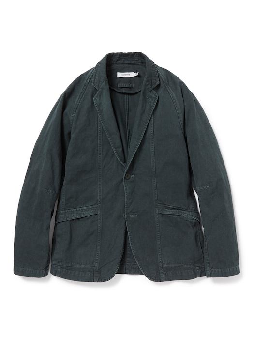 画像2: SALE 50%OFF!! nonnative / ノンネイティブ /  CLERK 2B JACKET COTTON CHINO CLOTH OVERDYED