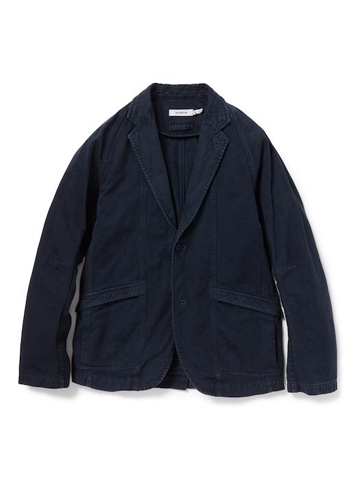 画像3: SALE 50%OFF!! nonnative / ノンネイティブ /  CLERK 2B JACKET COTTON CHINO CLOTH OVERDYED
