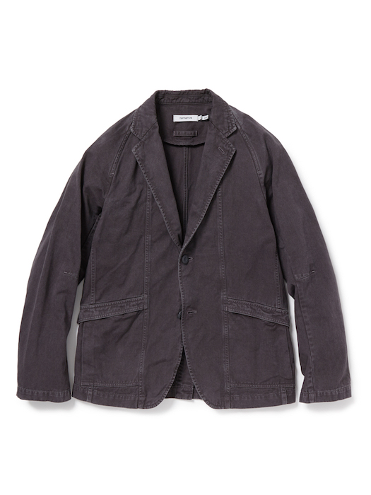 画像1: SALE 50%OFF!! nonnative / ノンネイティブ /  CLERK 2B JACKET COTTON CHINO CLOTH OVERDYED