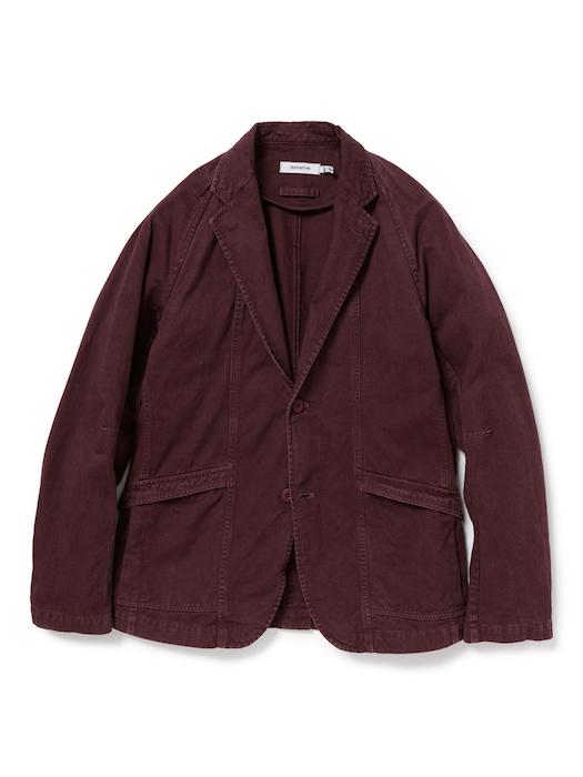 画像4: SALE 50%OFF!! nonnative / ノンネイティブ /  CLERK 2B JACKET COTTON CHINO CLOTH OVERDYED