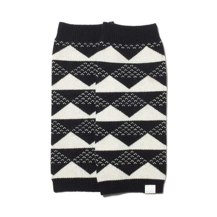 画像2: SALE 40%OFF!! White Mountaineering  / TRIANGLE JACQUARD LEG WARMER