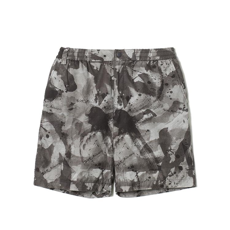 画像2: SALE 30%OFF!! White Mountaineering / ホワイトマウンテニアリング / sumi-e painting back twill shorts.