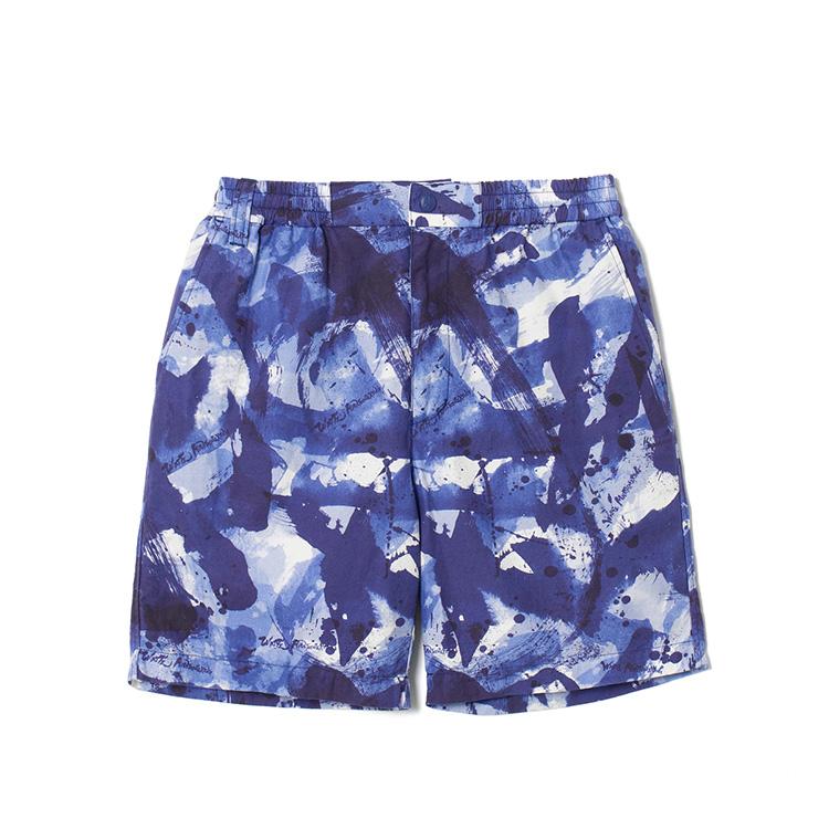 画像1: SALE 30%OFF!! White Mountaineering / ホワイトマウンテニアリング / sumi-e painting back twill shorts.