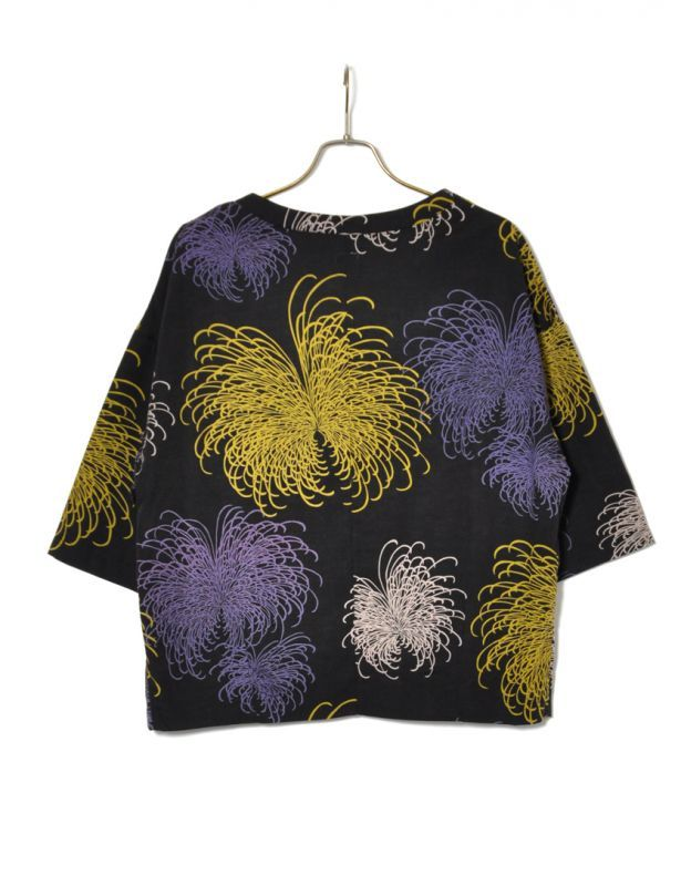 画像2: SALE 40%OFF!! Sasquatchfabrix. / FIREWORKS SHORT LENGTH H/S SMOCK