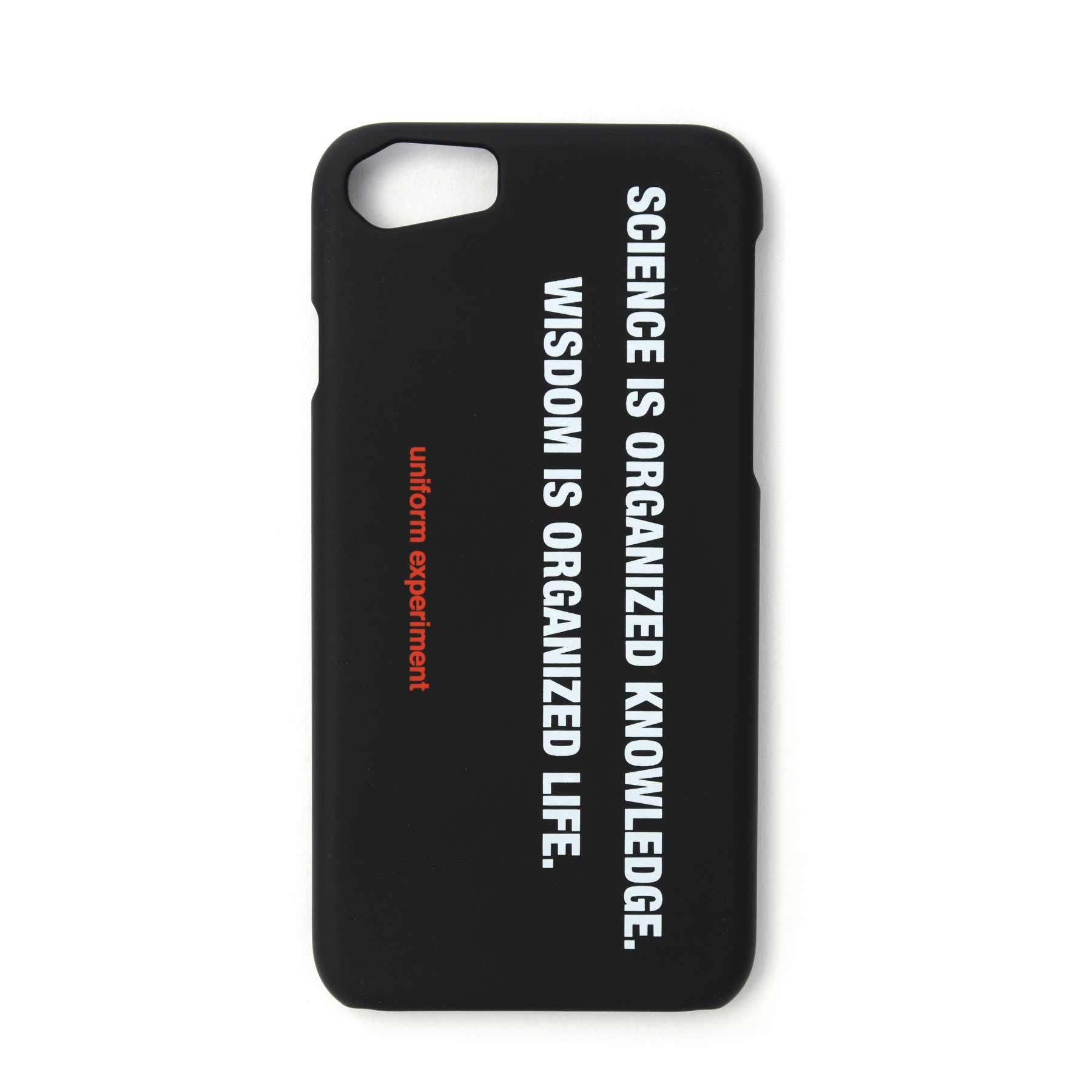 画像2: uniform experiment / PHILOSOPHY PHONE CASE for iPhone 6,7,8