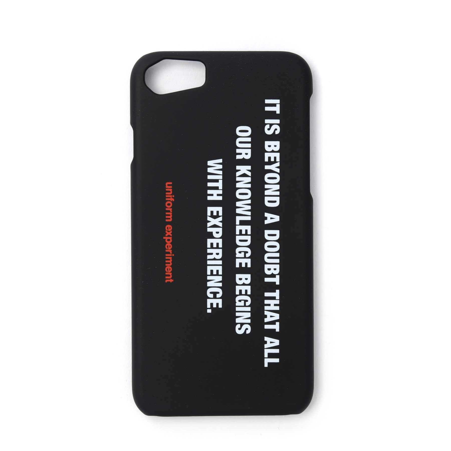 画像3: uniform experiment / PHILOSOPHY PHONE CASE for iPhone 6,7,8