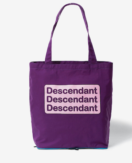 画像2: DESCENDANT / ディセンダント / MARKET PACKABLE TOTE BAG