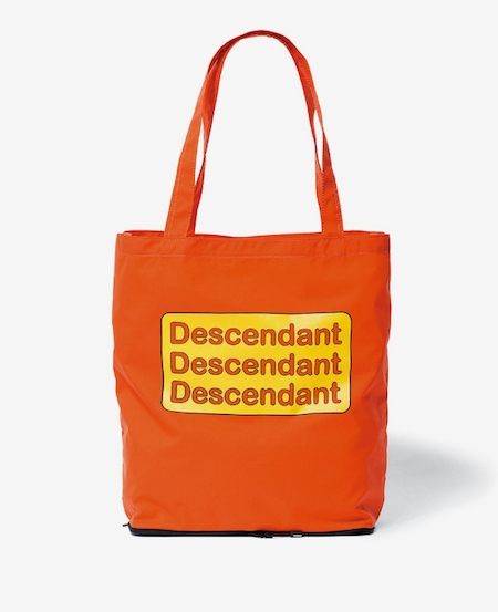 画像1: DESCENDANT / ディセンダント / MARKET PACKABLE TOTE BAG