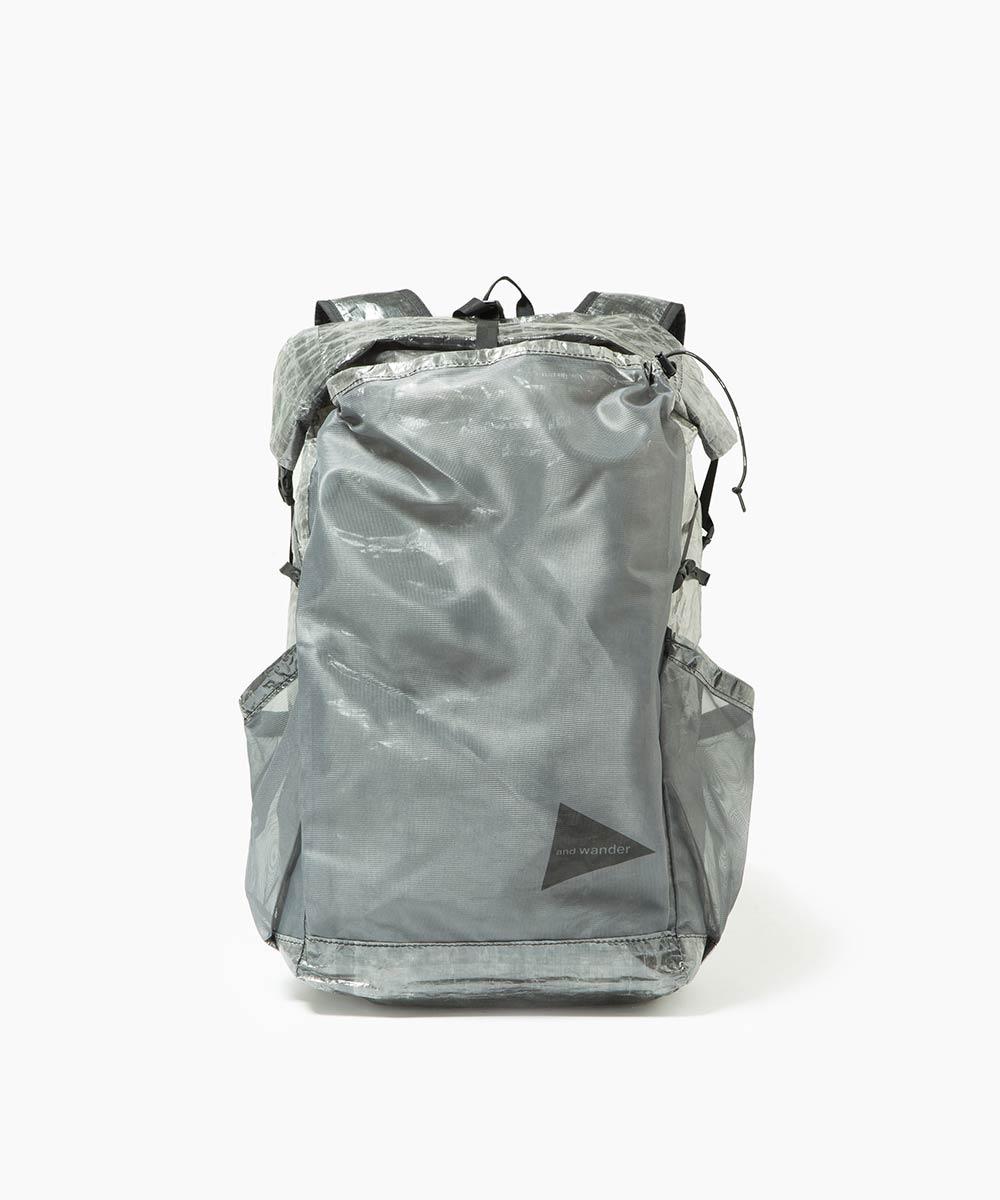 画像1: and wander / アンドワンダー / cuben fiber backpack black