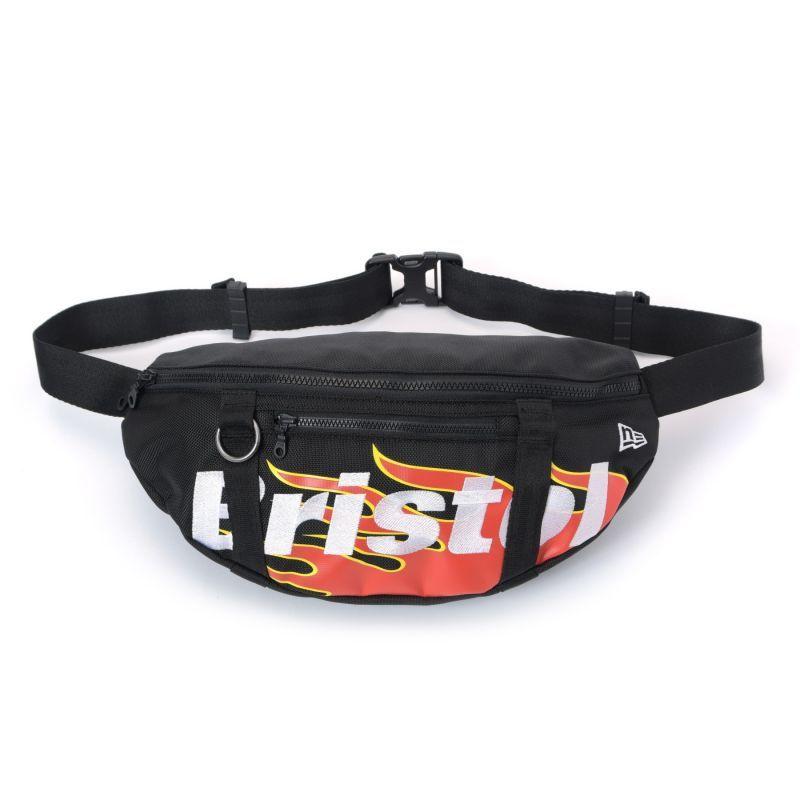 画像1: F.C.REAL BRISTOL / NEW ERA FIRE FLAME WAIST BAG