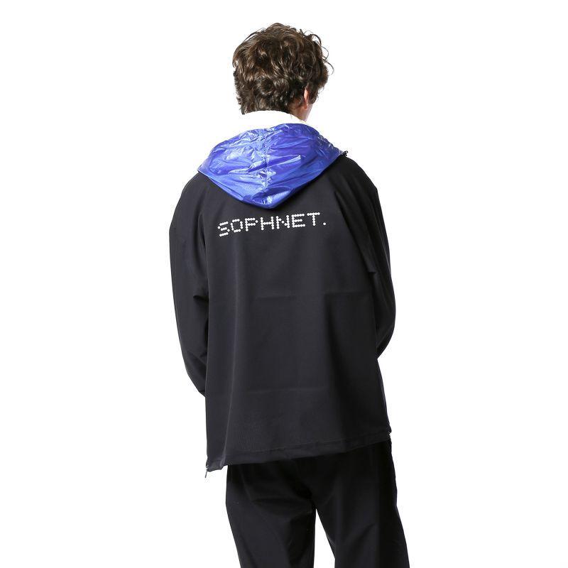 画像4:  SOPHNET. / ソフネット / SIDE ZIP COLOR BLOCK ZIP UP HOODIE