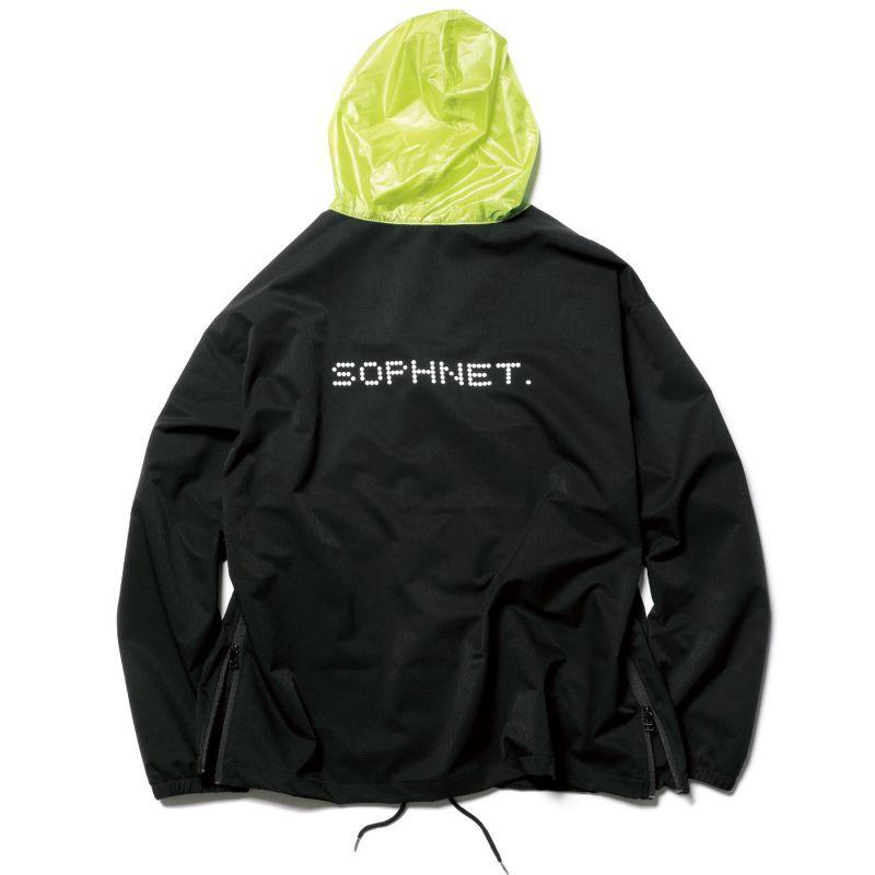 画像1:  SOPHNET. / ソフネット / SIDE ZIP COLOR BLOCK ZIP UP HOODIE