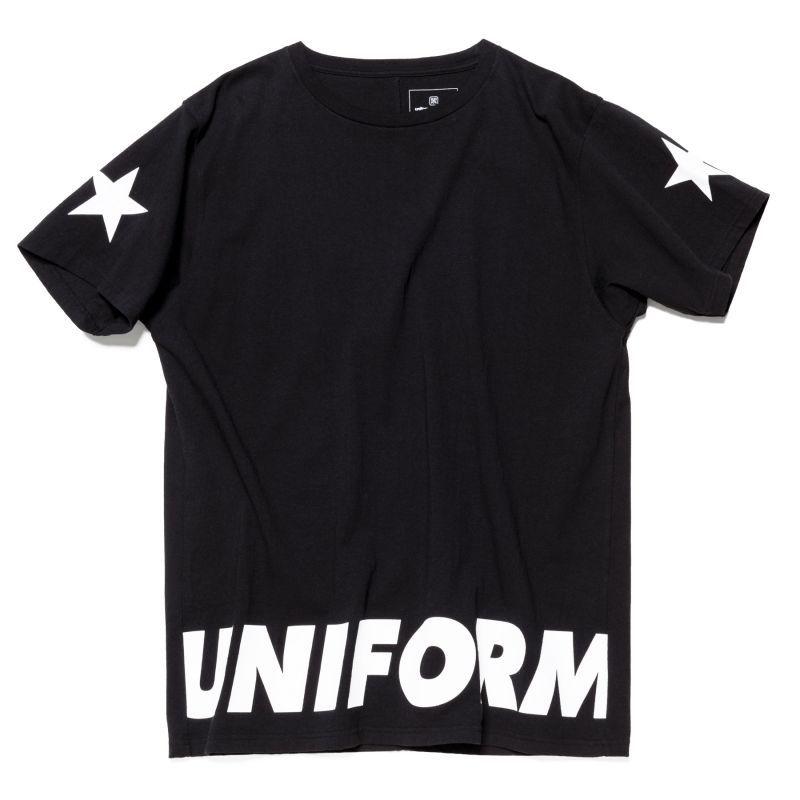 画像1:  uniform experiment / STAR BIG TEE