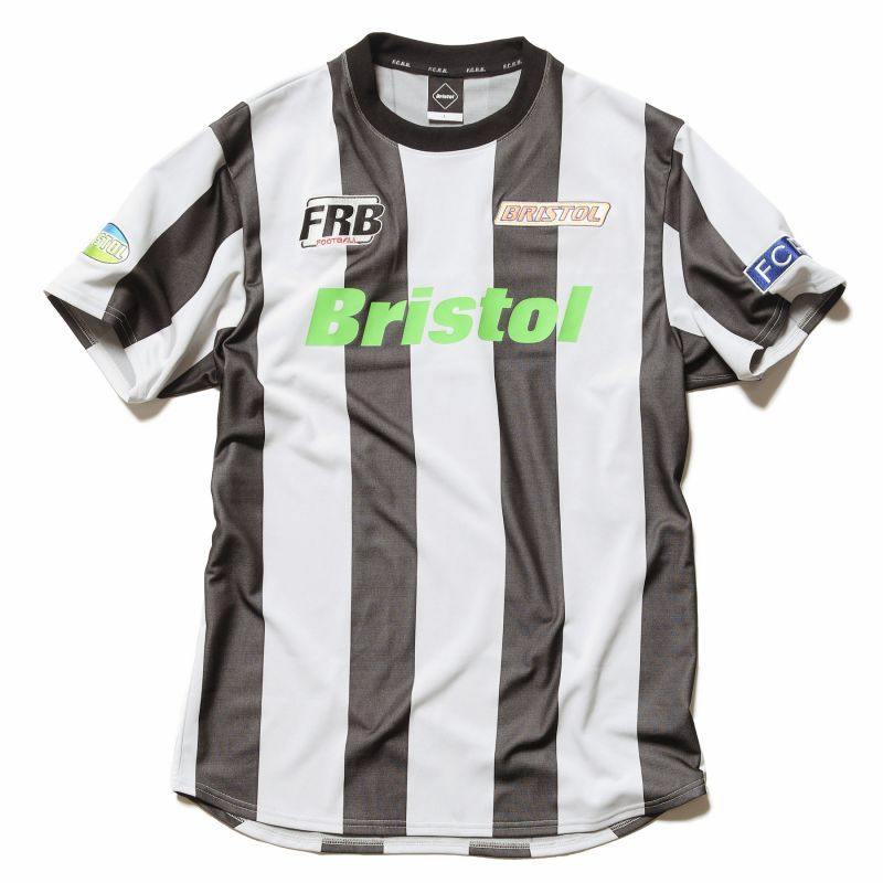 画像1: F.C.REAL BRISTOL /STRIPE S/S TRAINING TOP