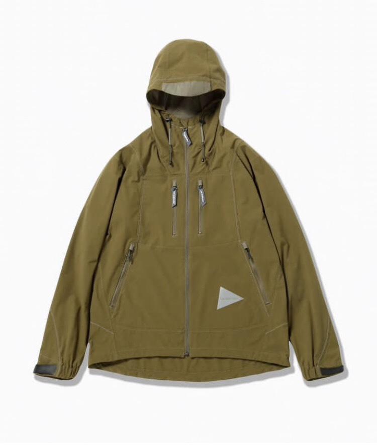 画像1: and wander / アンドワンダー / UV shield jacket