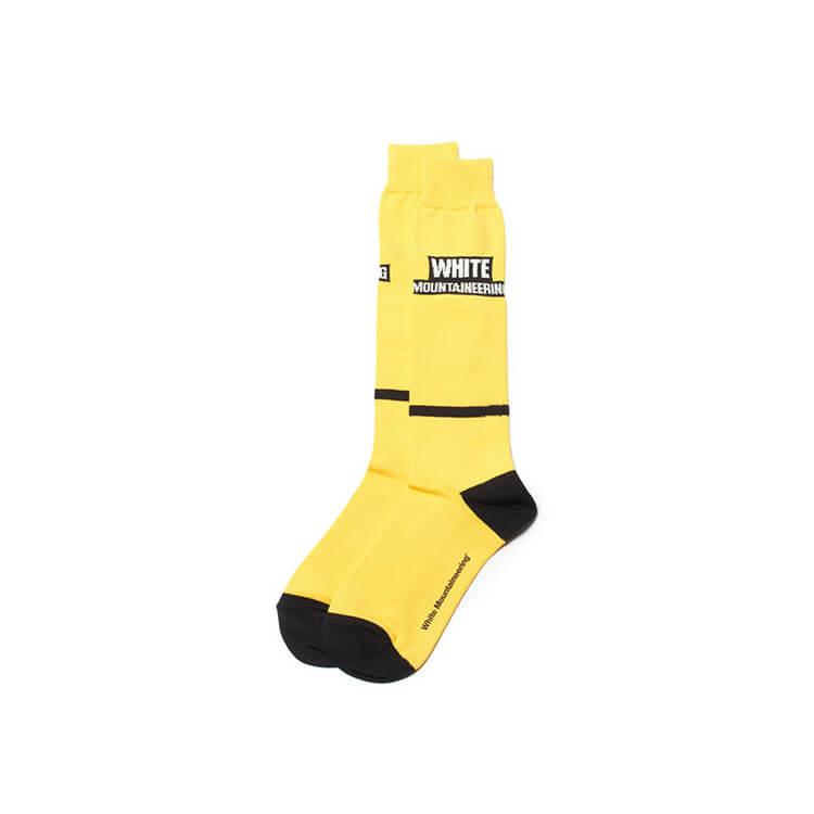 画像1: White Mountaineering / ホワイトマウンテニアリング / WM BOX LOGO FOOTBALL SOCKS