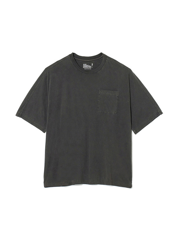 画像2: SALE 30%OFF!! White Mountaineering / ホワイトマウンテニアリング / garment dyed half sleeve big t-shirt.