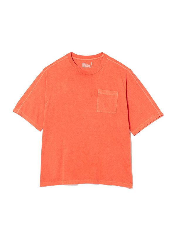 画像1: SALE 30%OFF!! White Mountaineering / ホワイトマウンテニアリング / garment dyed half sleeve big t-shirt.