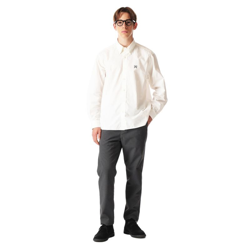 画像4: uniform experiment / SOLOTEX MELANGE 4WAY STRETCH SIDE POCKET TAPERED PANTS